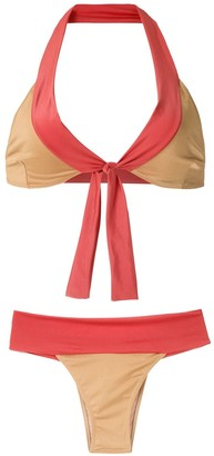 BRIGITTE Lace Up Bikini Set