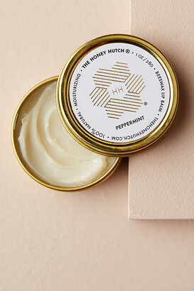 The Honey Hutch Beeswax Lip Balm By The Honey Hutch in Gold