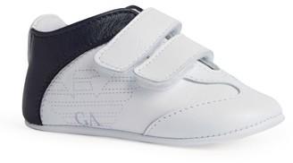 Emporio Armani Kids Eagle Velcro Sneakers