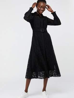 Monsoon Yvie Lace Shirt Dress