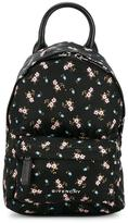 Givenchy floral printed nano backpack - women - Leather/Acrylic/Polyamide - One Size