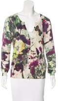 Escada Sport Knit Printed Cardigan