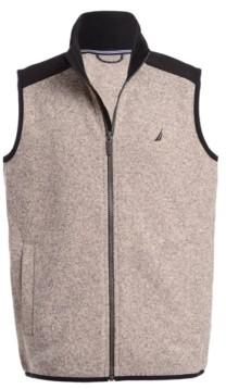 Nautica Big Boys Minos Full-Zip Sweater Fleece Vest