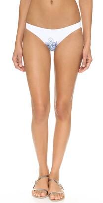 Shoshanna Women's Summer Garden Classic Bikini Bottom