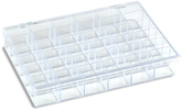Container Store 36-Compartment Box Clear