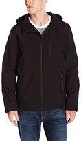 GUESS Men's Shoftshell Hooded Jacket
