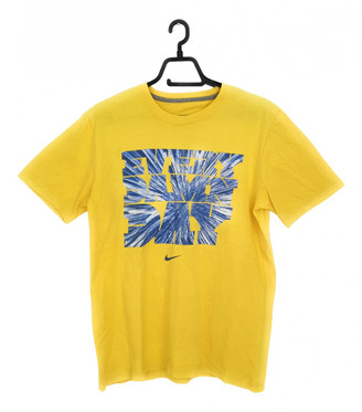 Nike Yellow Cotton T-shirts