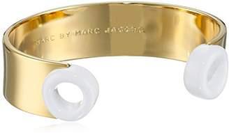 MARC BY MARC JACOBS Small Enamel Peephole Cuff Bracelet