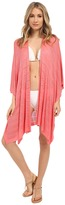 Echo Pointelle Ruana Cover-Up