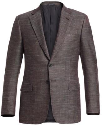 Giorgio Armani Micro Melange Dress Jacket