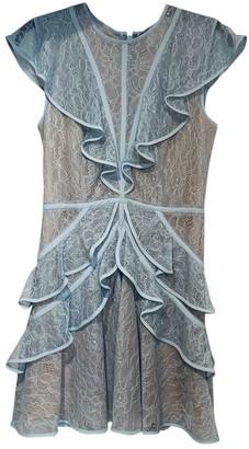 BCBGMAXAZRIA Blue Lace Dress for Women