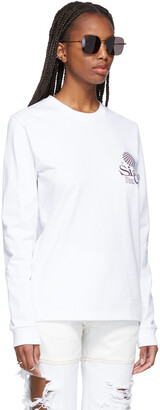 SSENSE WORKS SSENSE Exclusive White 'Out Of Sight' Long Sleeve T-Shirt