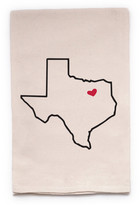 "ellembee Home ""Texas State"" Tea Towel"