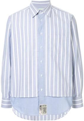 Aries Stripe Long-Sleeve Shirt
