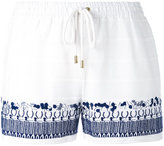 MICHAEL Michael Kors embroidery shorts - women - Cotton - XS