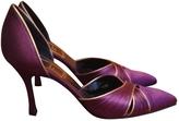 Christian Dior Purple Heels