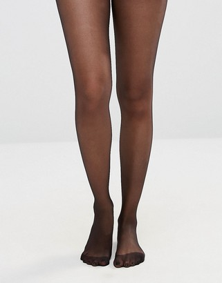 ASOS DESIGN 15 denier black tights