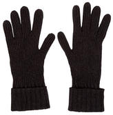 Burberry Cashmere Rib Knit Gloves