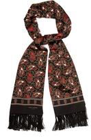 Saint Laurent Paisley-print silk scarf