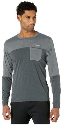 Columbia Outdoor Elementstm Long Sleeve Tee Grey/City Grey) Men's Clothing
