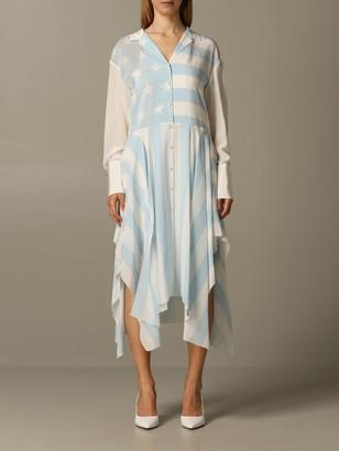 Tommy Hilfiger Dress Stars Stripes Longuette Dress