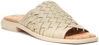 Kelsi Dagger Brooklyn Tide Woven Leather Slide Sandal