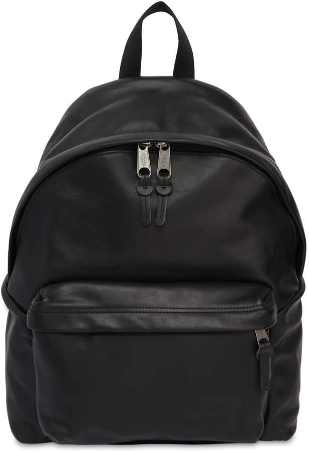 Eastpak 24l Padded Pak'r Leather Backpack