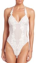 In Bloom Ariana Mesh & Lace Teddy