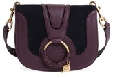 See by Chloe Hana Small Leather Crossbody Bag - Purple