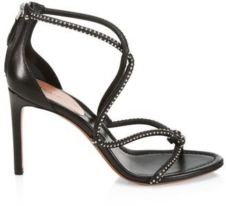 Alaia Studded Leather Sandals