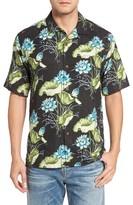 Tommy Bahama Men's Big & Tall Adriatic Garden Silk Blend Camp Shirt