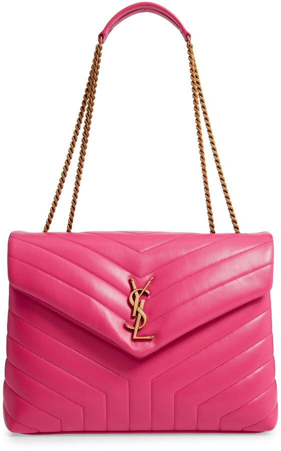 39a6b2b8dc5 Saint Laurent Pink Handbags - ShopStyle