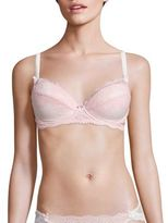Mimi Holliday Sugared Almond Raised Lace Super Plunge Padded Bra