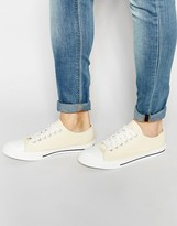 Brave Soul Lace Up Plimsolls