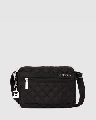 Hedgren - Women's Black Cross-body bags - Carina Small Crossbody - Size One Size at The Iconic