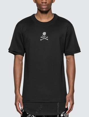 Mastermind Japan Mesh Layered Logo T-Shirt