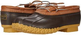 L.L. Bean L.L.Bean Bean Boots Rubber Moc (Tan/Brown) Men's Boots