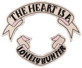 Olympia Le-Tan 'The Heart is a lonely hunter' brooch