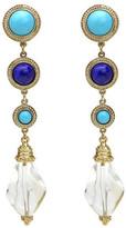 Ben-Amun St. Tropez Multi Stone Drop Earrings