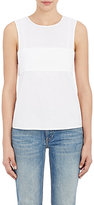Alexander Wang Women's Poplin Bandeau Top-WHITE