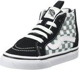 Vans T Sk8-Hi Zip (Inf/Tod) - (Checkerboard)Blk/Citadel-8 Toddler