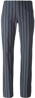 Romeo Gigli Pre-Owned Striped Trousers