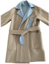 Max Mara Beige Wool Coats
