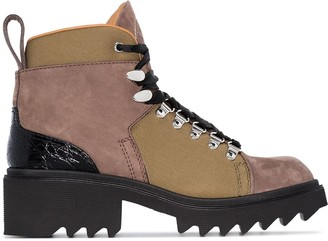 Chloé Hiking 50mm ankle boots