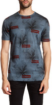 Antony Morato Floral Striped Short Sleeve Shirt