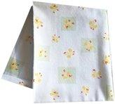 "Baby Gift Idea Baby Duck - Yellow / Receiving blankets 27"", unisex"