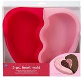 Wilton Heart Silicone Pan - 2 Pcs