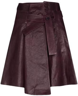 Chloé Tie Belt Mini Skirt