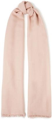 Brunello Cucinelli Frayed Cashmere And Silk-blend Gauze Scarf