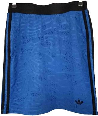 adidas Blue Polyester Skirts